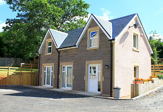 New four bedroom house Loch Lomond and the Trossachs National Park